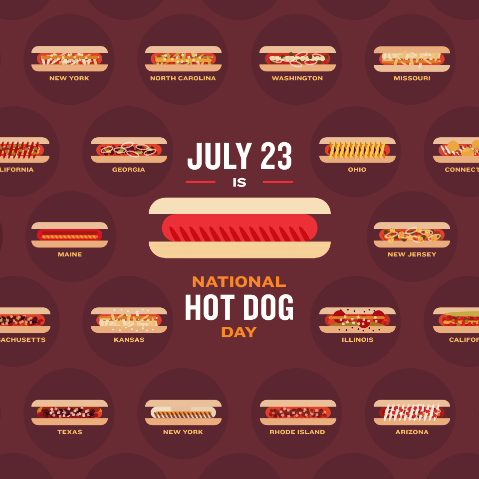 Happy National Hot Dog Day!