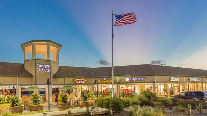 988deb59 Tanger Outlet in Nags Head. [Photo courtesy Tanger Outlet Centers]